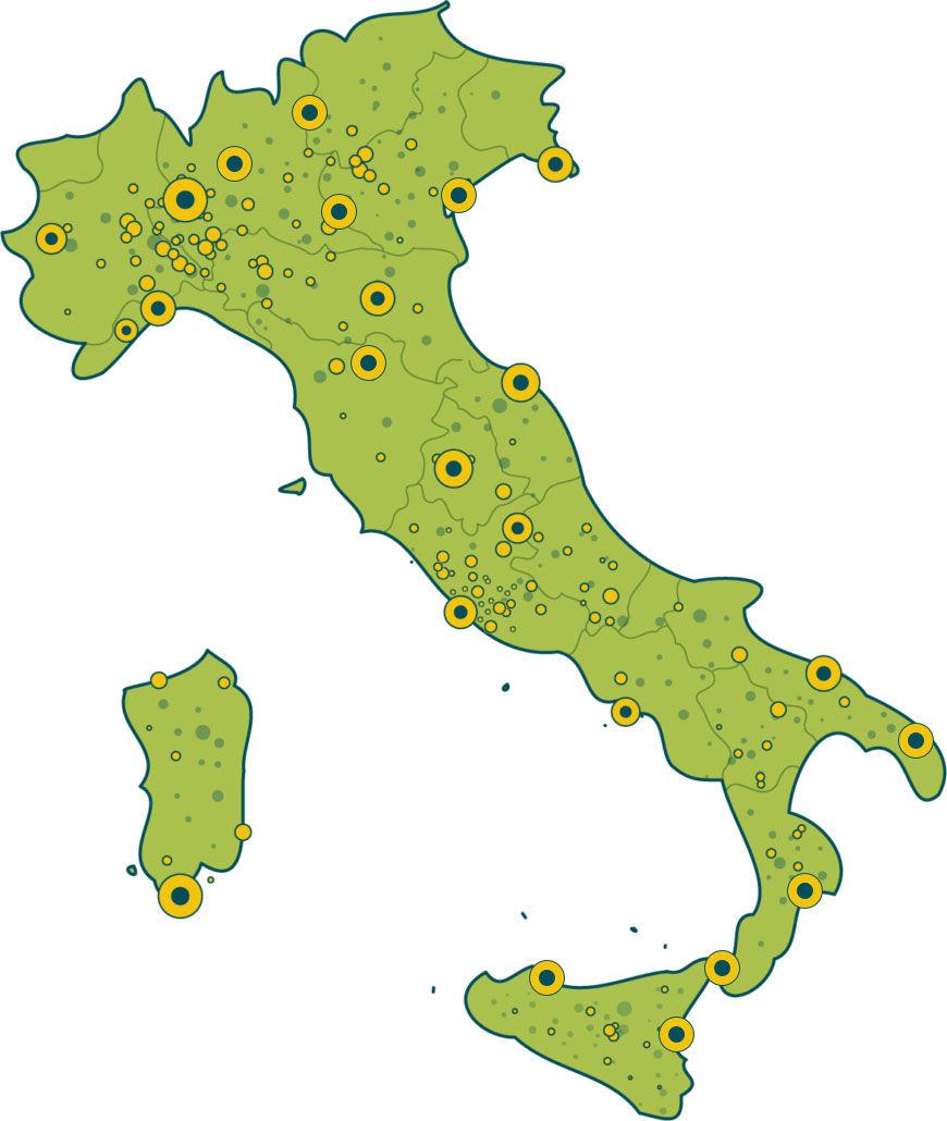 Presenza territoriale